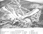 1963-64 Pico Peak Trail Map