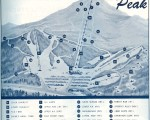1967-68 Pico Peak Trail Map