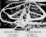 1962-63 Prospect Mountain Trail Map