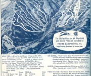 1964-65 Stowe Trail Map
