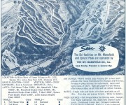1967-68 Stowe Trail Map