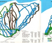 1980-81 Stowe Trail Map