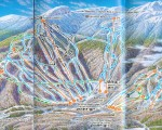 1994-95 Stowe Trail Map