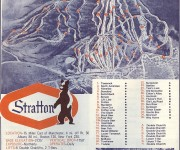 1968-69 Stratton Trail Map