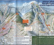 1999-00 Sugarbush Trail Map