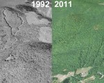 Evergreen Valley Aerial Imagery, 1992 vs. 2011