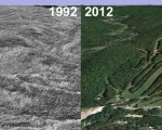 Berkshire East Aerial Imagery, 1992 vs. 2012