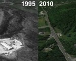 Boston Hills Aerial Imagery, 1995 vs. 2010
