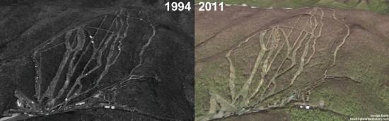 Brodie Aerial Imagery, 1994 vs. 2011