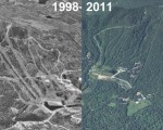 Crotched Mountain Aerial Imagery, 1998 vs. 2011
