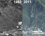 Loon Aerial Imagery, 1993 vs. 2011
