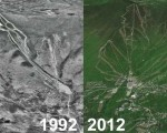 Sugarbush Aerial Imagery, 1992 vs. 2012