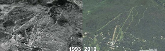Timber Ridge Aerial Imagery, 1993 vs. 2010